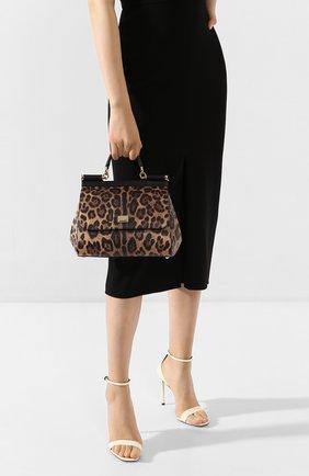 Женская сумка sicily medium DOLCE & GABBANA леопардового цвета, арт. BB6002/AG299 | Фото 2