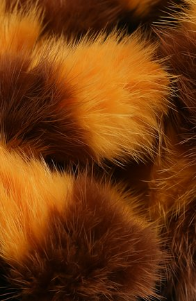 Мужские меховой шарф FENDI разноцветного цвета, арт. FNG520 ABRP | Фото 2