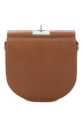 Женская сумка demilune GU_DE бежевого цвета, арт. G020SM007 | Фото 1