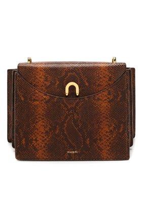 Женская сумка eloise YUZEFI коричневого цвета, арт. YUZSS20-EL | Фото 1
