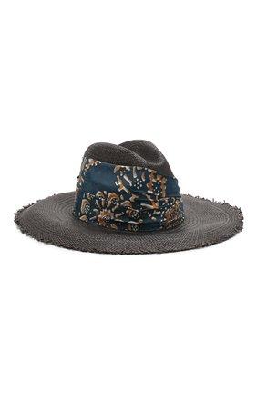 Женская соломенная шляпа BRUNELLO CUCINELLI черного цвета, арт. MCAP90117 | Фото 1