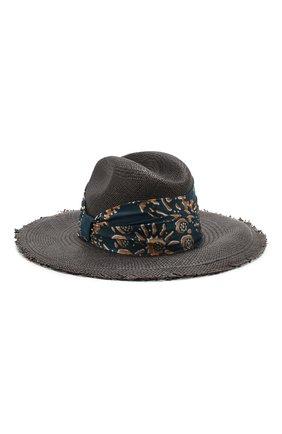 Женская соломенная шляпа BRUNELLO CUCINELLI черного цвета, арт. MCAP90117 | Фото 2