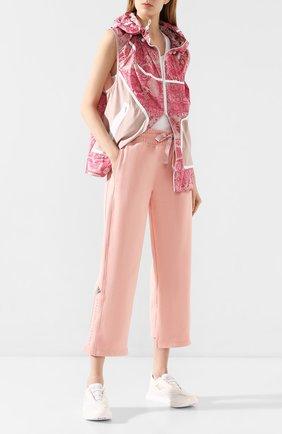 Женские текстильные кроссовки boston ADIDAS BY STELLA MCCARTNEY белого цвета, арт. EF3841 | Фото 2