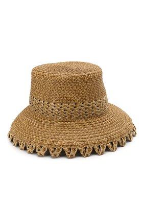 Женская шляпа ERIC JAVITS темно-бежевого цвета, арт. 12966/SQUISHEE MITA | Фото 1
