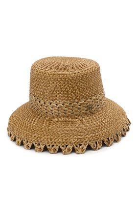 Женская шляпа ERIC JAVITS темно-бежевого цвета, арт. 12966/SQUISHEE MITA | Фото 2