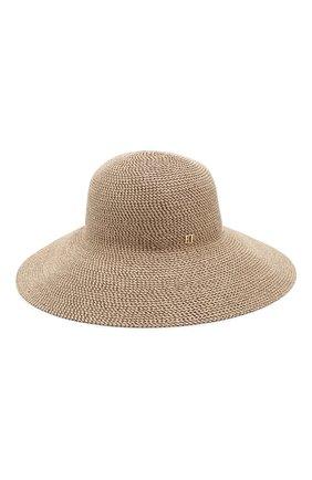Женская шляпа ERIC JAVITS светло-коричневого цвета, арт. 13804/HAMPT0N | Фото 2