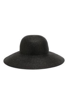 Женская шляпа ERIC JAVITS черного цвета, арт. 13804/HAMPT0N | Фото 1