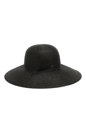Женская шляпа ERIC JAVITS черного цвета, арт. 13804/HAMPT0N | Фото 2