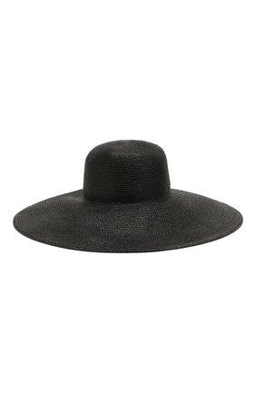Женская шляпа ERIC JAVITS черного цвета, арт. 13807/FL0PPY | Фото 1