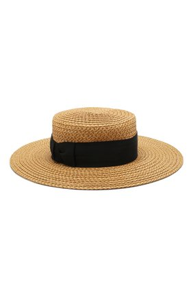 Женская шляпа ERIC JAVITS темно-бежевого цвета, арт. 13817/G0ND0LIER | Фото 1