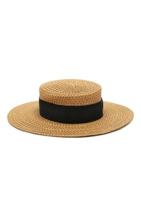 Женская шляпа ERIC JAVITS темно-бежевого цвета, арт. 13817/G0ND0LIER | Фото 2