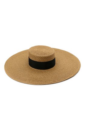 Женская шляпа ERIC JAVITS темно-бежевого цвета, арт. 13898/BEY | Фото 1