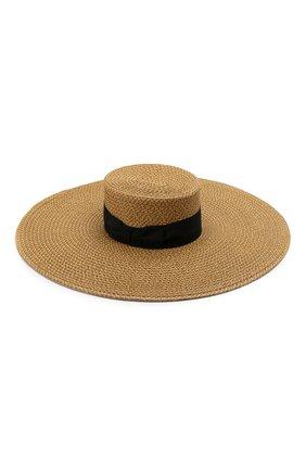 Женская шляпа ERIC JAVITS темно-бежевого цвета, арт. 13898/BEY | Фото 2