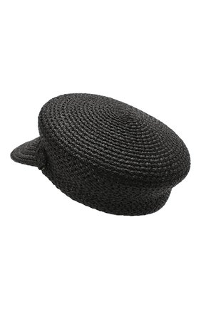 Женская кепи ERIC JAVITS черного цвета, арт. 13991/CAPITAN | Фото 2