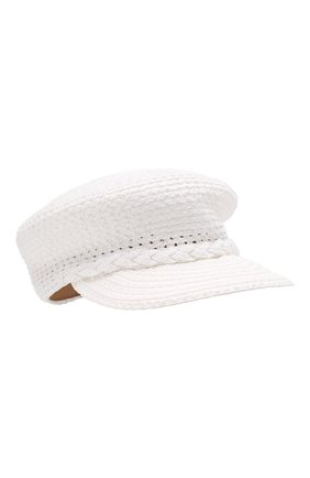 Женская кепи ERIC JAVITS белого цвета, арт. 13991/CAPITAN | Фото 1