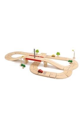 Детского игра деревянная дорога PLAN TOYS разноцветного цвета, арт. 6078 | Фото 2