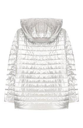 Детская куртка с капюшоном FREEDOMDAY серебряного цвета, арт. EFRJG4318V-765 | Фото 2