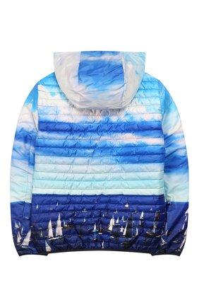 Детского двусторонняя куртка FREEDOMDAY темно-синего цвета, арт. EFRJB3303V-103 | Фото 2