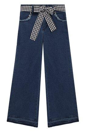 Детские джинсы TWINSET синего цвета, арт. 201GJ2011/6A-10A   Фото 1