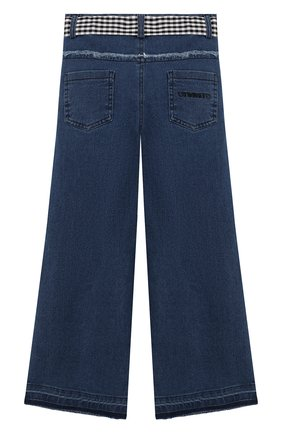 Детские джинсы TWINSET синего цвета, арт. 201GJ2011/6A-10A   Фото 2