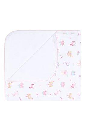 Детского хлопковое одеяло KISSY KISSY розового цвета, арт. KG7044440   Фото 1