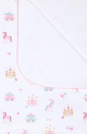 Детского хлопковое одеяло KISSY KISSY розового цвета, арт. KG7044440   Фото 2