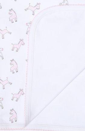 Детского хлопковое одеяло KISSY KISSY розового цвета, арт. KG7043190   Фото 2