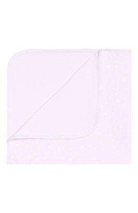 Детского хлопковое одеяло KISSY KISSY розового цвета, арт. KG7042900   Фото 1