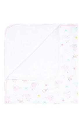 Детского хлопковое одеяло KISSY KISSY розового цвета, арт. KG7035520   Фото 1