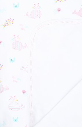 Детского хлопковое одеяло KISSY KISSY розового цвета, арт. KG7035520   Фото 2