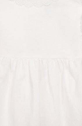 Детский топ TARTINE ET CHOCOLAT белого цвета, арт. TQ10021/4A-5A | Фото 3