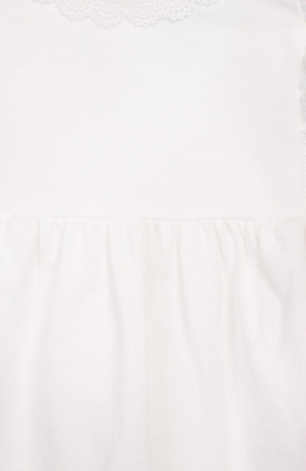 Детский топ TARTINE ET CHOCOLAT белого цвета, арт. TQ10021/18M-3A | Фото 3