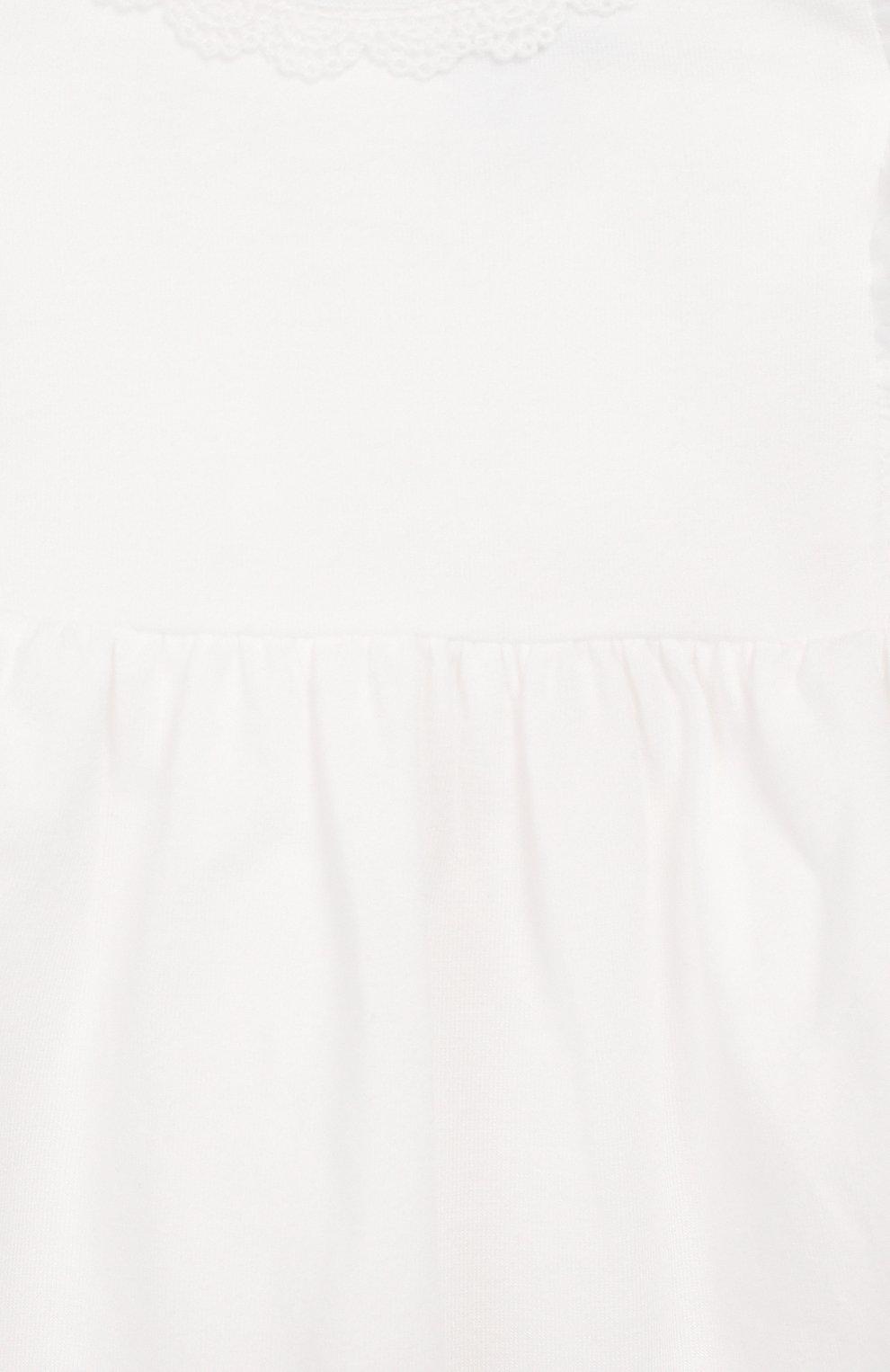 Детский топ TARTINE ET CHOCOLAT белого цвета, арт. TQ10021/1M-1A | Фото 3