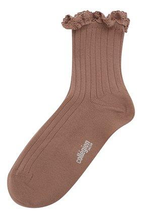 Детские хлопковые носки COLLEGIEN розового цвета, арт. 3455/36-44 | Фото 1