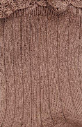 Детские хлопковые носки COLLEGIEN розового цвета, арт. 3455/36-44 | Фото 2