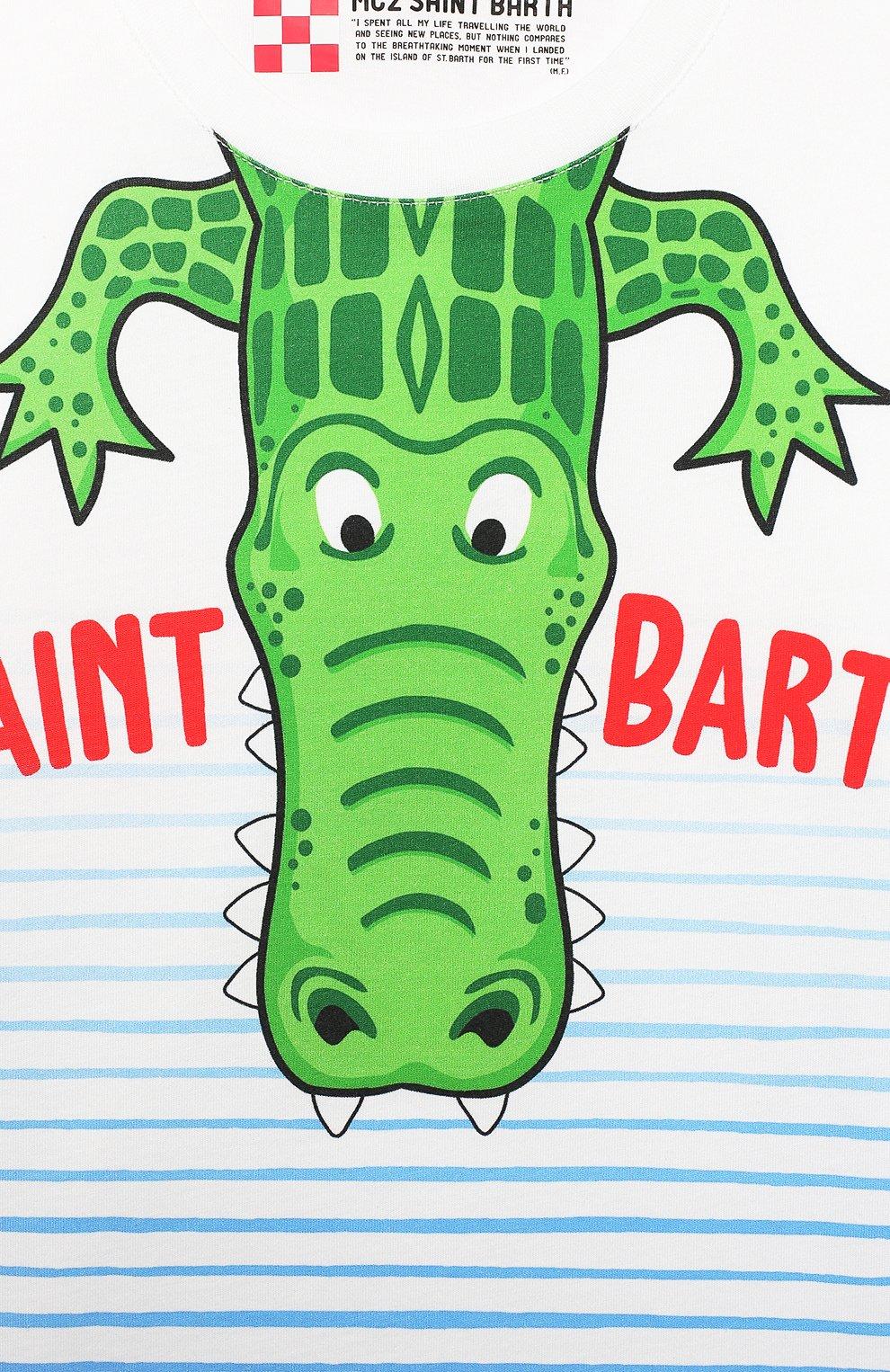 Детская хлопковая футболка MC2 SAINT BARTH разноцветного цвета, арт. STBK TSHIRT B0Y/TSH0001 | Фото 3
