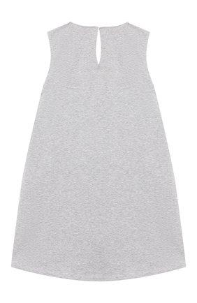 Детское хлопковое платье SIMONETTA синего цвета, арт. 1M1512/MC450/5-8 | Фото 2
