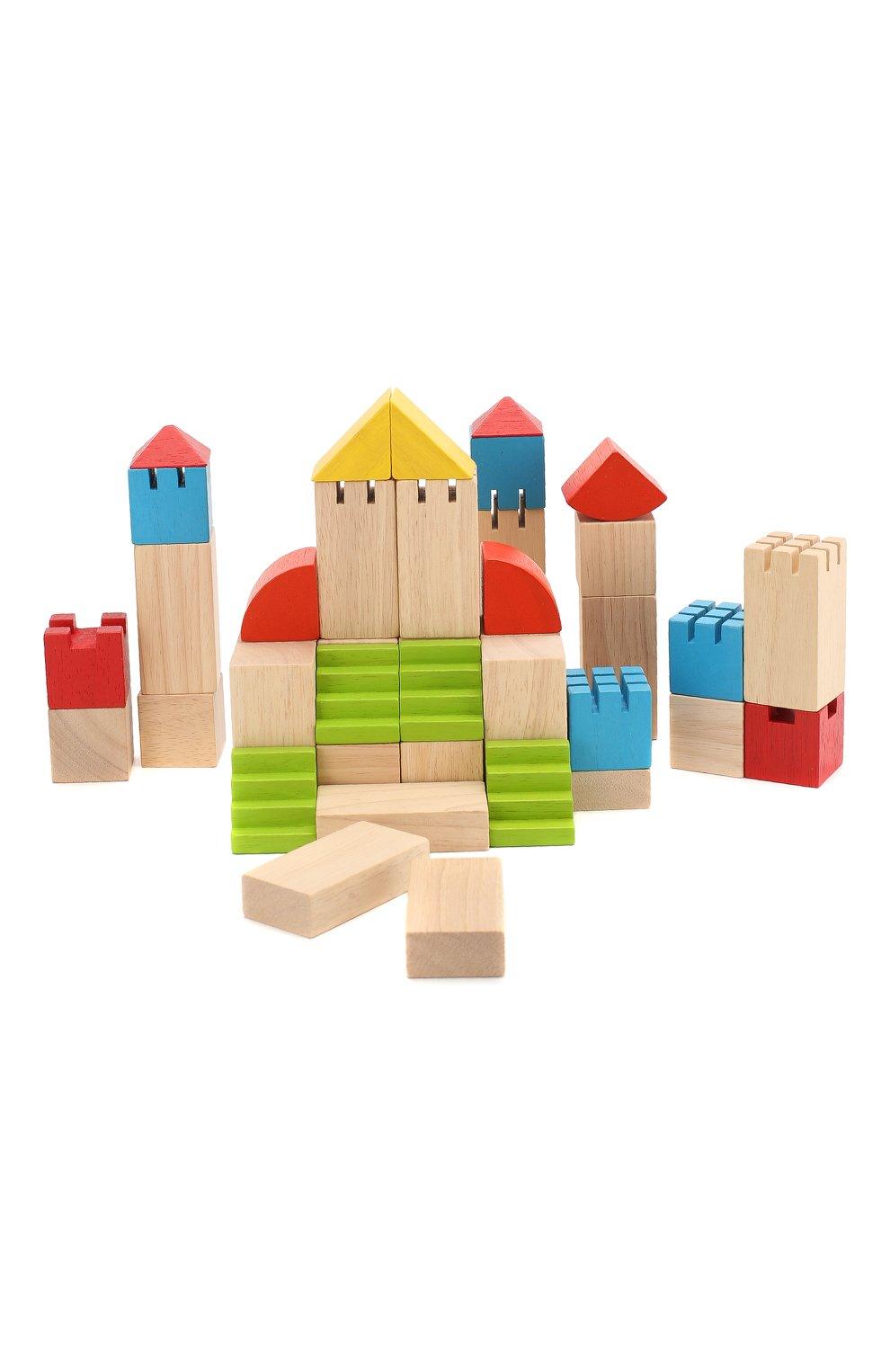 Детского конструктор блоки PLAN TOYS разноцветного цвета, арт. 5527   Фото 1