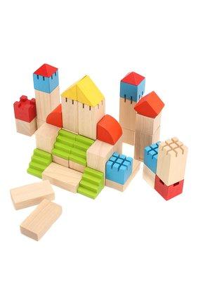 Детского конструктор блоки PLAN TOYS разноцветного цвета, арт. 5527   Фото 3