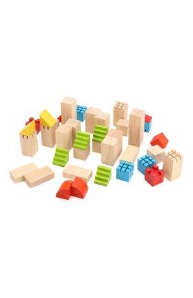 Детского конструктор блоки PLAN TOYS разноцветного цвета, арт. 5527   Фото 4