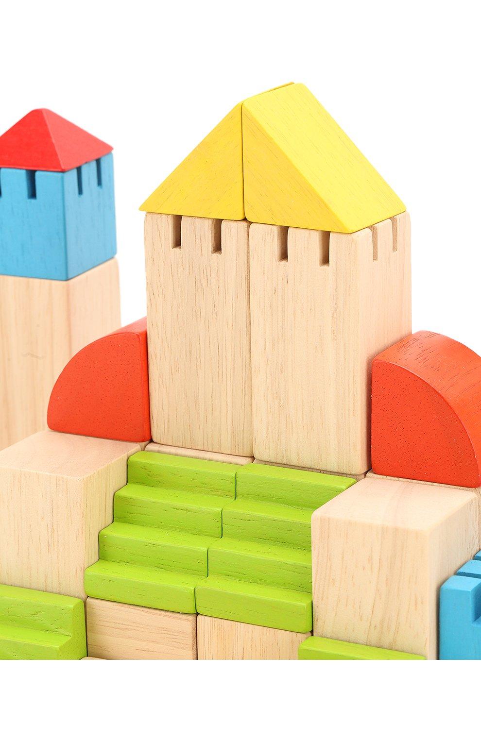 Детского конструктор блоки PLAN TOYS разноцветного цвета, арт. 5527   Фото 5