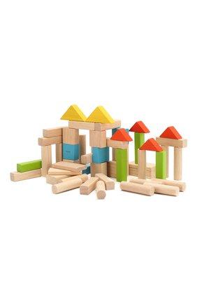 Детского игра блоки PLAN TOYS разноцветного цвета, арт. 5535 | Фото 1