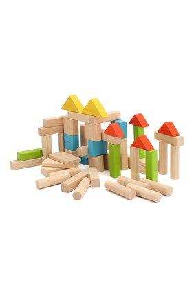 Детского игра блоки PLAN TOYS разноцветного цвета, арт. 5535 | Фото 2