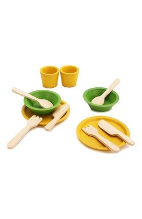 Детского игра набор деревянной посуды PLAN TOYS разноцветного цвета, арт. 3605 | Фото 1