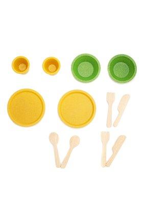 Детского игра набор деревянной посуды PLAN TOYS разноцветного цвета, арт. 3605 | Фото 2
