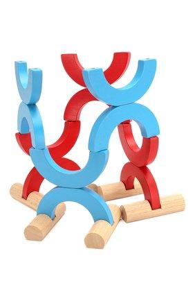 Детского игра в кегли и метания PLAN TOYS разноцветного цвета, арт. 4124 | Фото 2