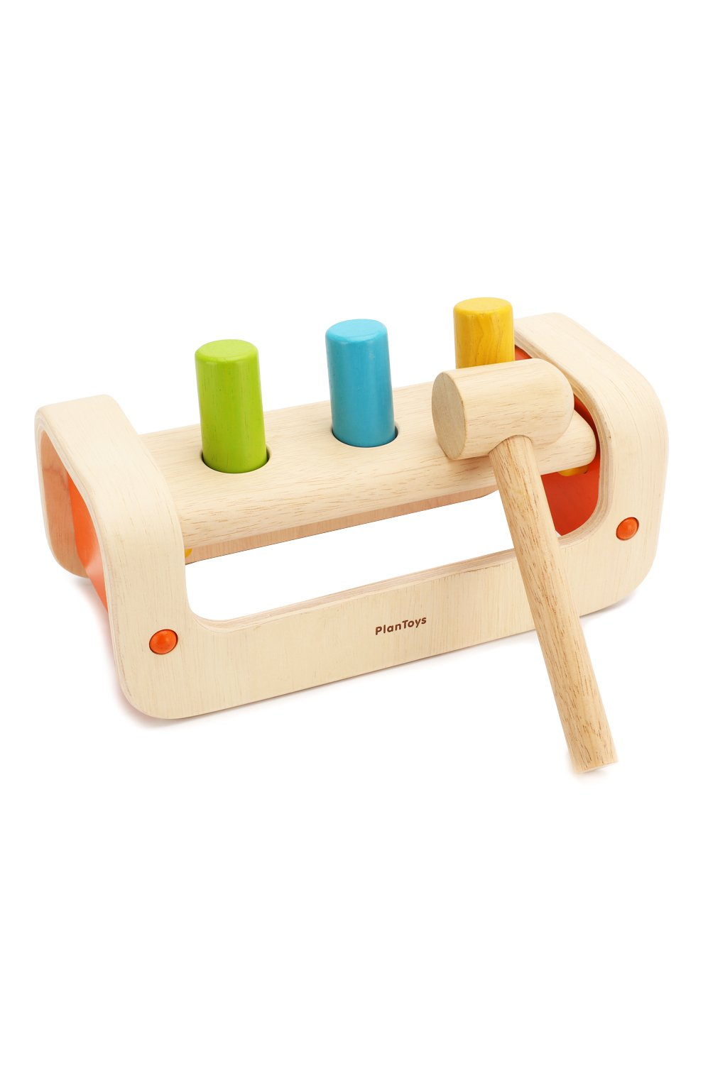 Детского игра забивалка PLAN TOYS разноцветного цвета, арт. 5350 | Фото 1