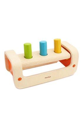 Детского игра забивалка PLAN TOYS разноцветного цвета, арт. 5350 | Фото 2