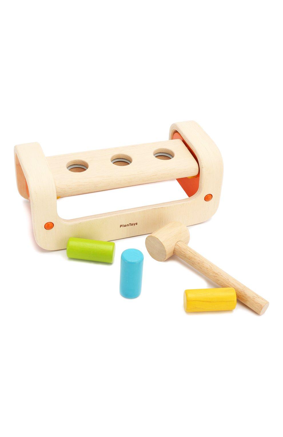 Детского игра забивалка PLAN TOYS разноцветного цвета, арт. 5350 | Фото 7