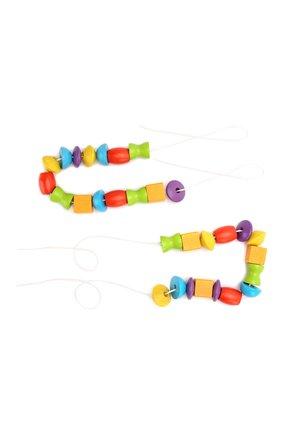 Детского игра собери бусы PLAN TOYS разноцветного цвета, арт. 5353 | Фото 1